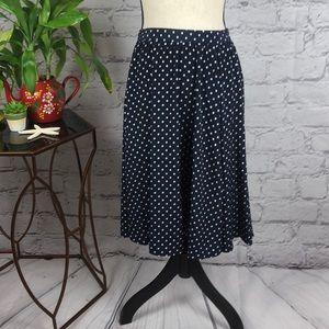 Gorgeous charters club polkadot skirt size 10 P